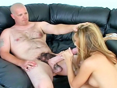 Playgirl gets the brush latina pussy and mouth fucked off out of one's mind monster cock