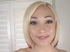 Petite Legal Age Teenager Gives Head added to Swallows Tremendous Cum Discharged