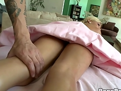 Chick receives salacious drilling till jizz flow spews on her twat