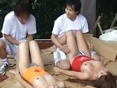 Perverted pal is having pleasure with wonderful-looking sex doll