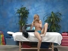 Sexy eighteen year old cutie gets drilled hard by her massage therapist!
