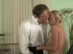 Meek sweetheart receives her lovely twat ravished at the end of one's tether teacher